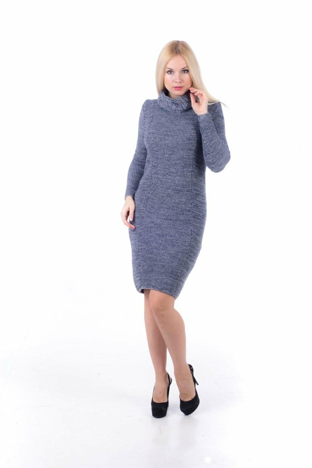 вязаные платья с чем правильно носить 0512comua