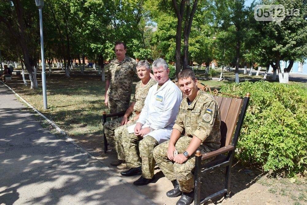 Меценаты оказали помощь Николаевскому военному госпиталю и облагородили зону отдыха, фото-3