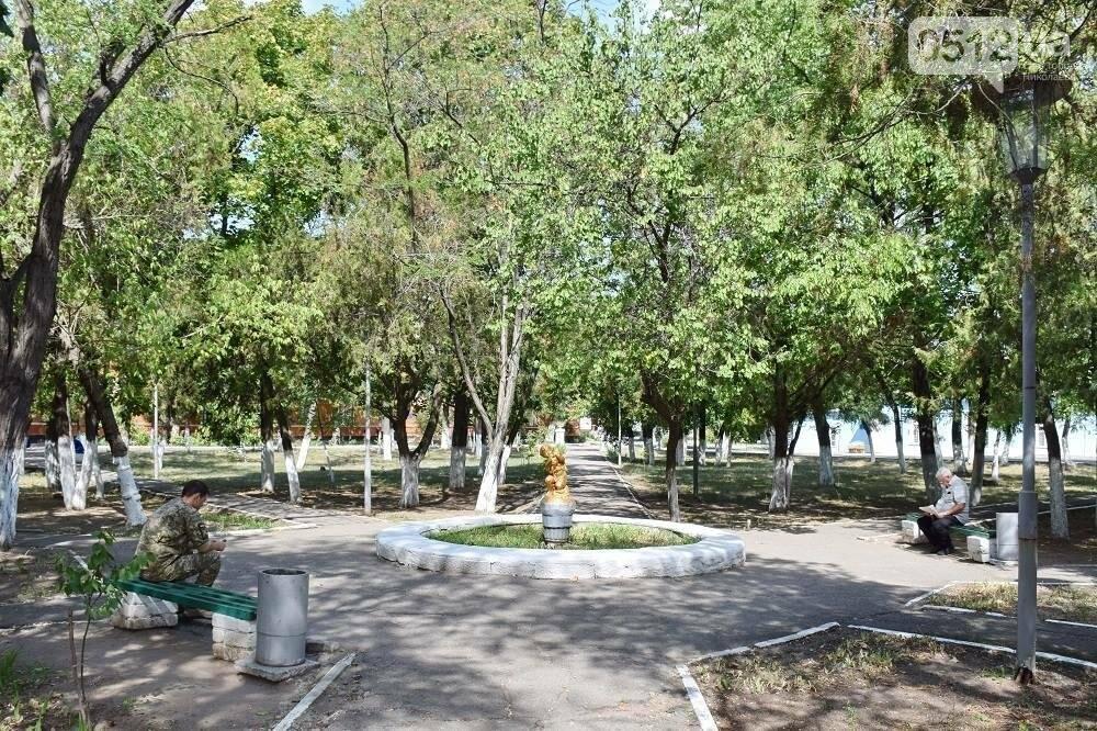 Меценаты оказали помощь Николаевскому военному госпиталю и облагородили зону отдыха, фото-4