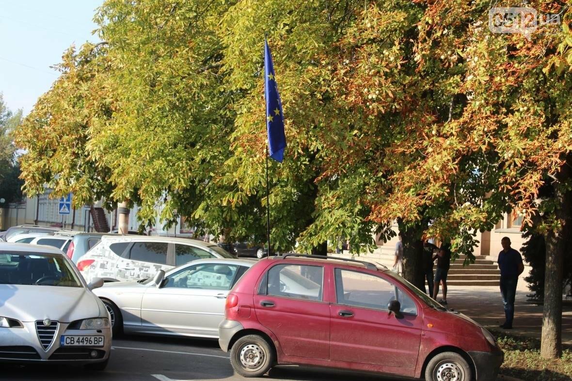 """Справедливые законы и обращение к Раде: под мэрией митингуют владельцы авто на """"еврономерах"""" (ФОТО), фото-8"""
