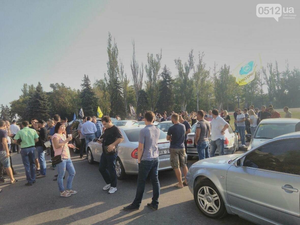 """Справедливые законы и обращение к Раде: под мэрией митингуют владельцы авто на """"еврономерах"""" (ФОТО), фото-4"""