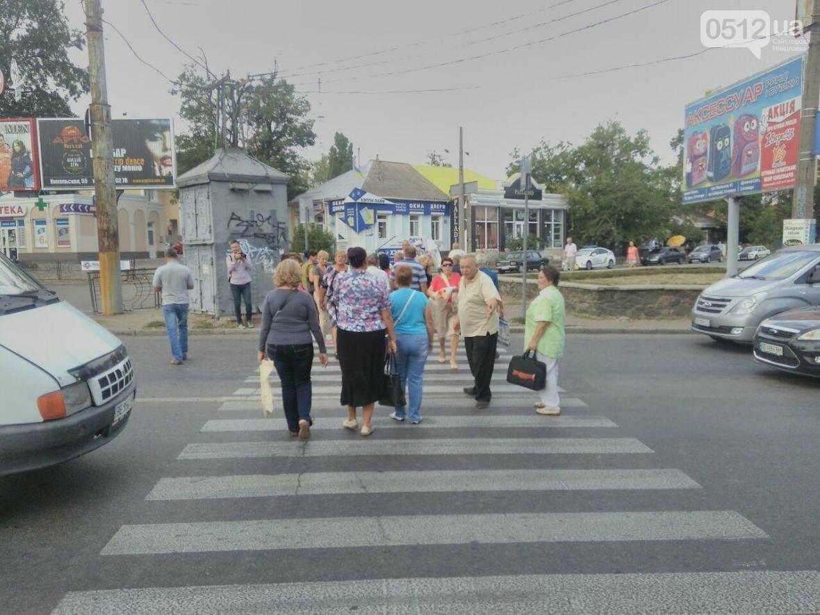 Движение на проспекте Центральном парализовано: сотня митингующих перекрыла Пушкинское кольцо, - ФОТО , фото-2