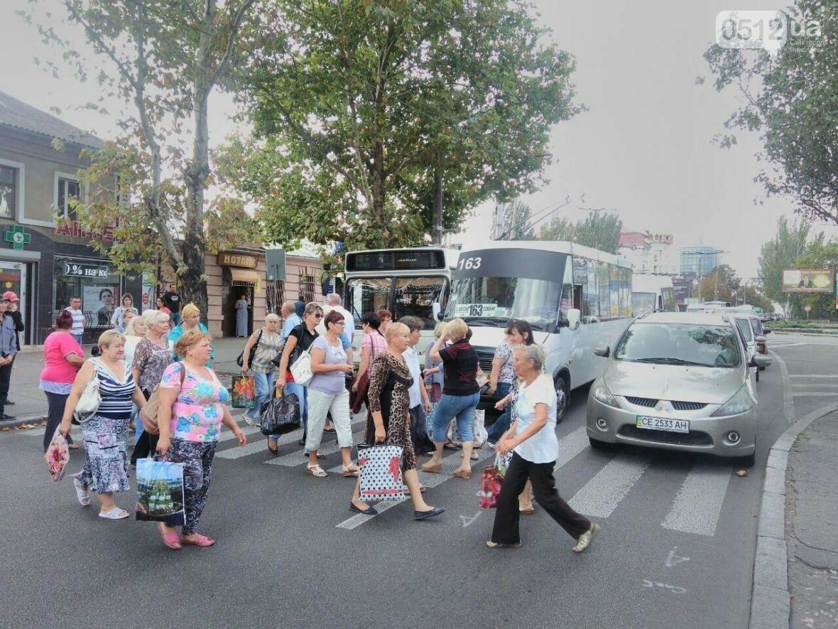Движение на проспекте Центральном парализовано: сотня митингующих перекрыла Пушкинское кольцо, - ФОТО , фото-6