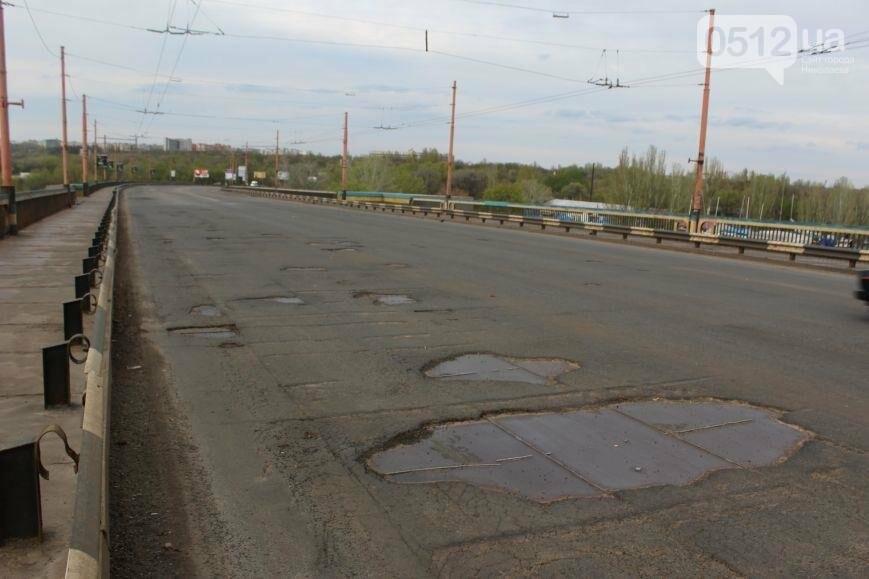 Вниманию водителей: движение по Ингульскому мосту в Николаеве временно ограничено , фото-1