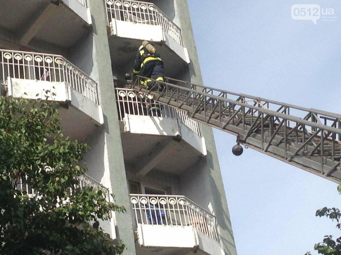 """В Николаеве спасатели эвакуировали людей с 5 этажа санатория """"Ингул"""", - ФОТО , фото-2"""