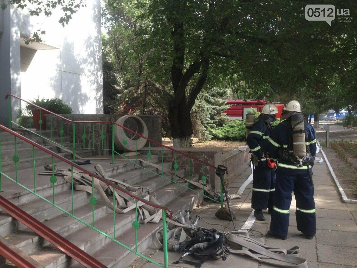 """В Николаеве спасатели эвакуировали людей с 5 этажа санатория """"Ингул"""", - ФОТО , фото-8"""