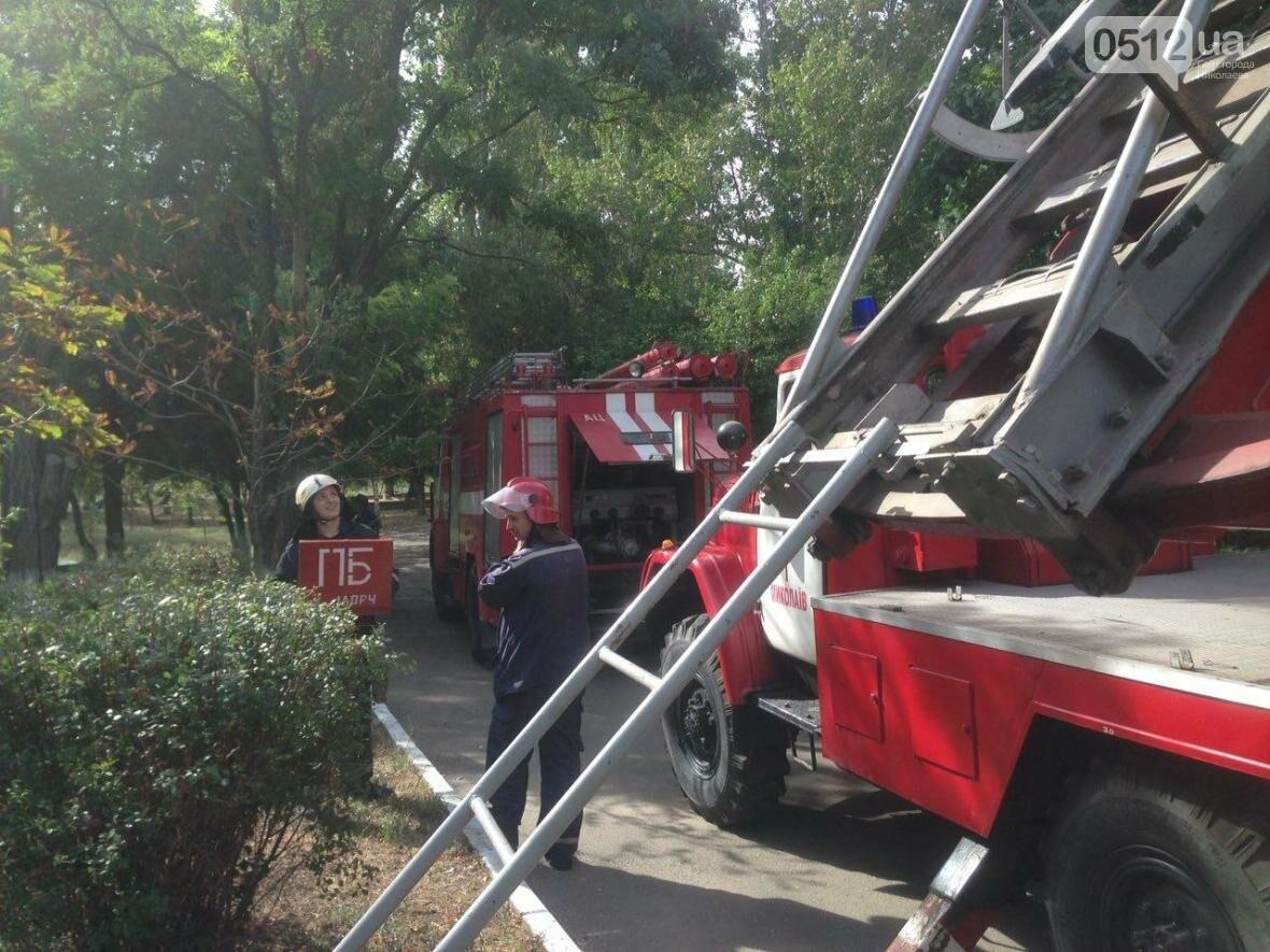 """В Николаеве спасатели эвакуировали людей с 5 этажа санатория """"Ингул"""", - ФОТО , фото-11"""
