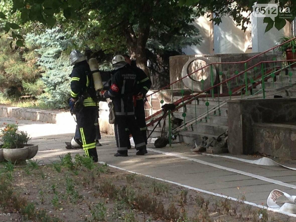 """В Николаеве спасатели эвакуировали людей с 5 этажа санатория """"Ингул"""", - ФОТО , фото-9"""