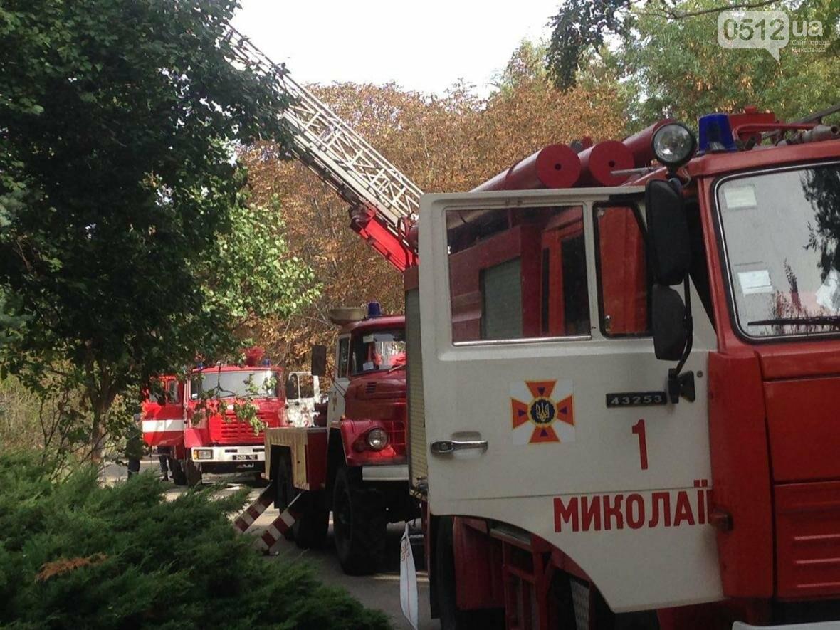 """В Николаеве спасатели эвакуировали людей с 5 этажа санатория """"Ингул"""", - ФОТО , фото-14"""