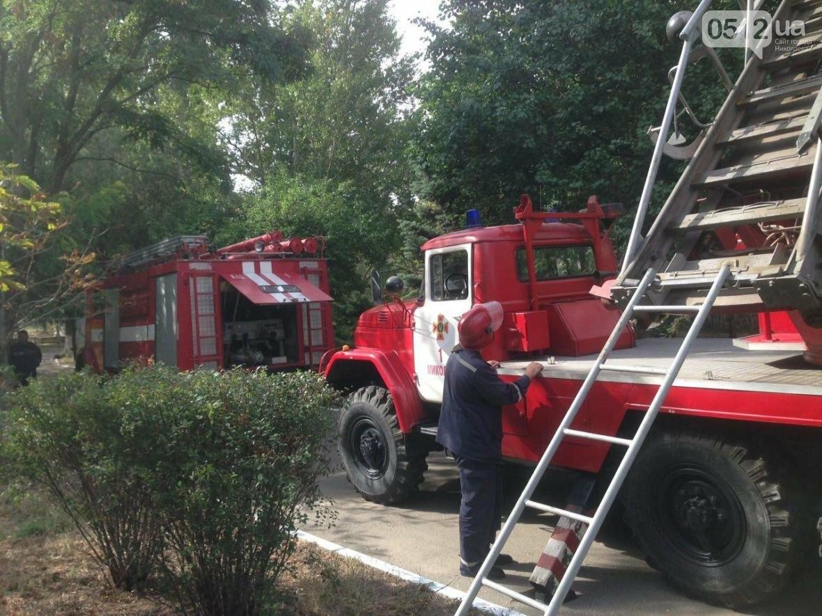 """В Николаеве спасатели эвакуировали людей с 5 этажа санатория """"Ингул"""", - ФОТО , фото-15"""