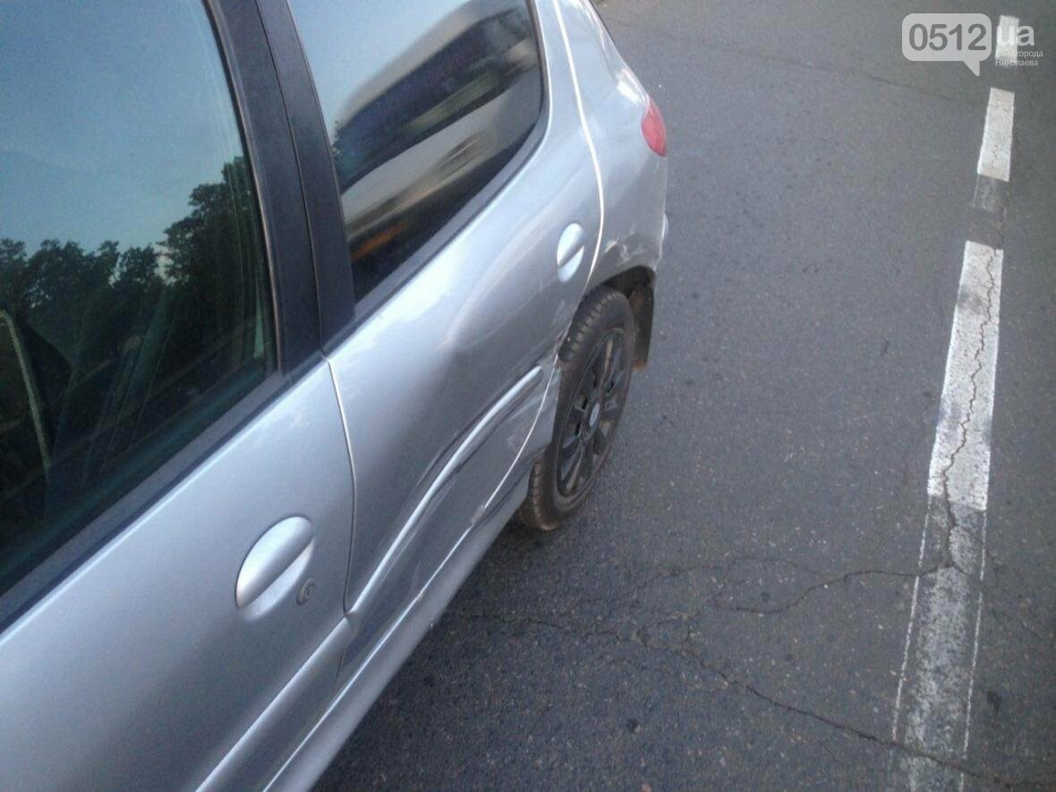 """ДТП в центре Николаева: Opel """"влетел"""" в Peugeot, - ФОТО , фото-4"""