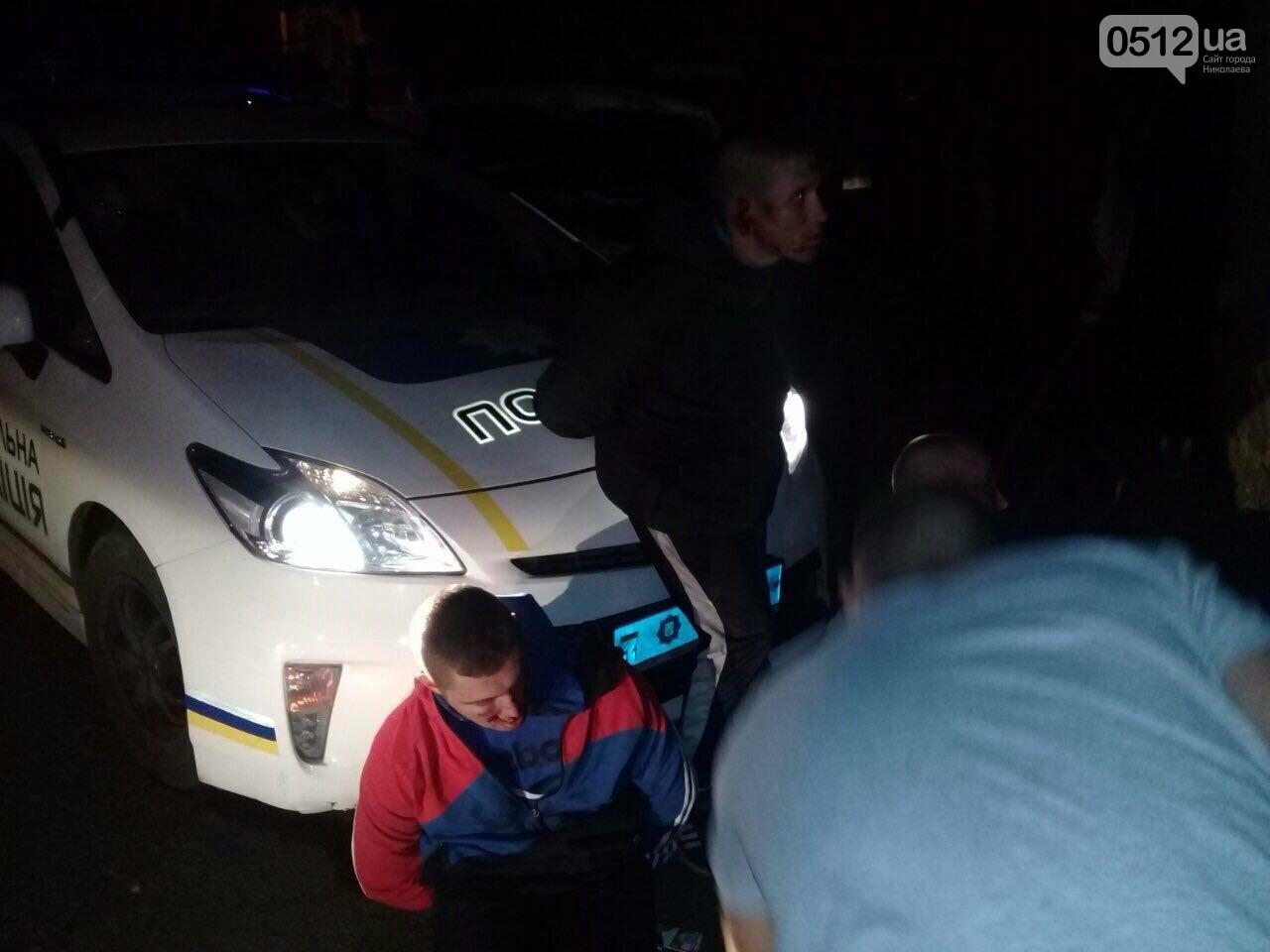 Погоня со стрельбой в Николаеве: патрульные задержали группу нетрезвых молодых людей (ФОТО), фото-5