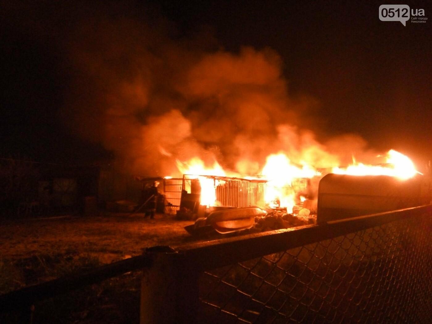 В Рыбаковке горела одна из баз отдыха, - ФОТО, фото-1