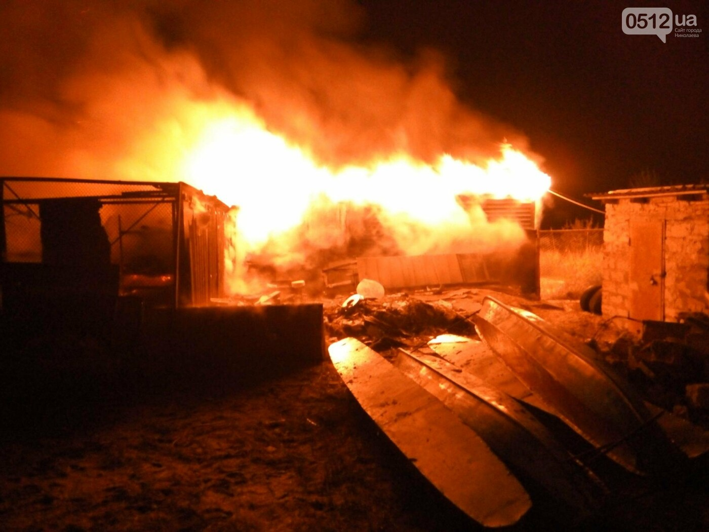 В Рыбаковке горела одна из баз отдыха, - ФОТО, фото-3
