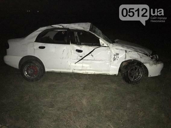 В ДТП на Николаевщине погиб мужчина и двое детей получили травмы (ФОТО), фото-1