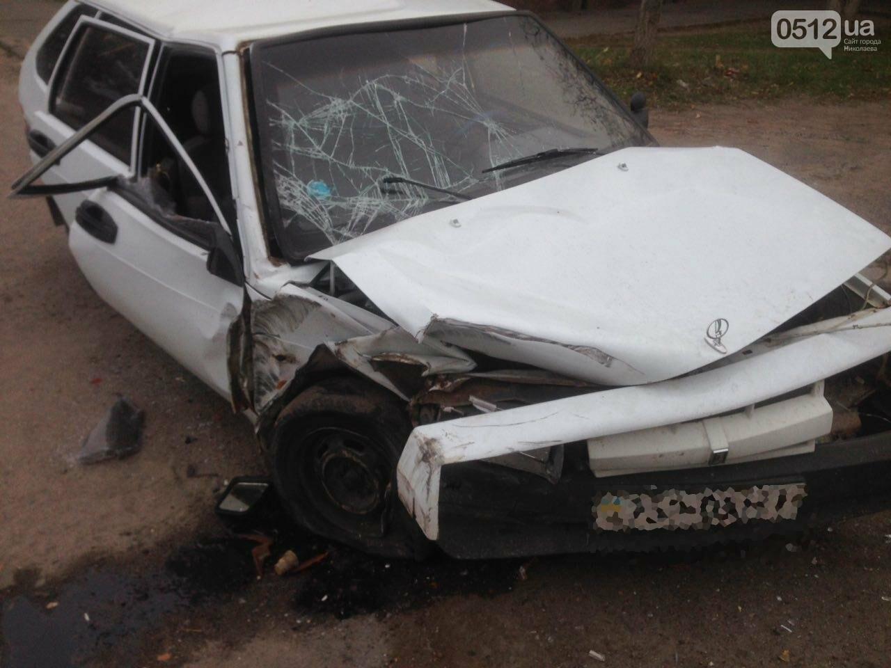 """На въезде в Николаев фура сбила """"девятку"""" - в аварии пострадали отец и сын, - ФОТО , фото-7"""