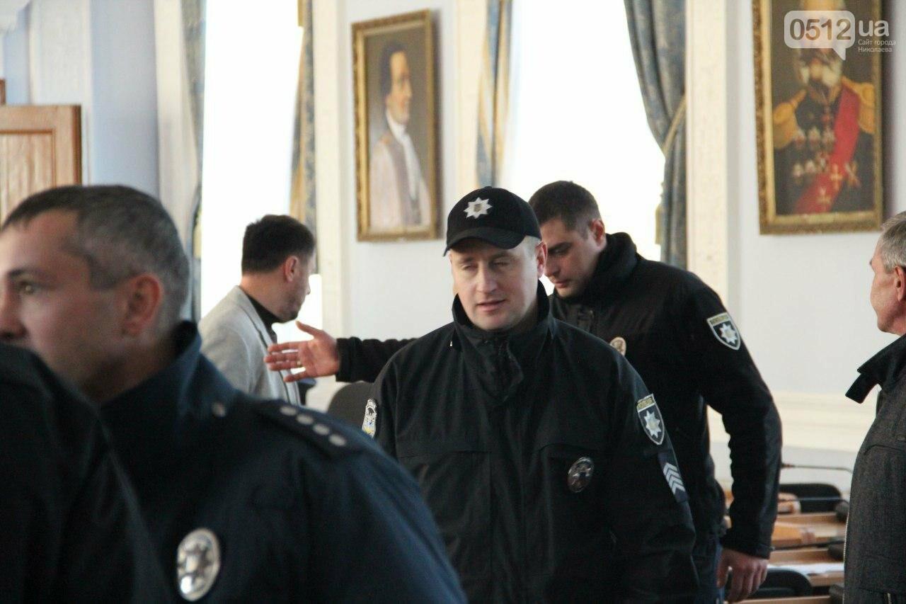 В Николаеве на сессии горсовета активисты подрались с полицией, - ФОТО, фото-14