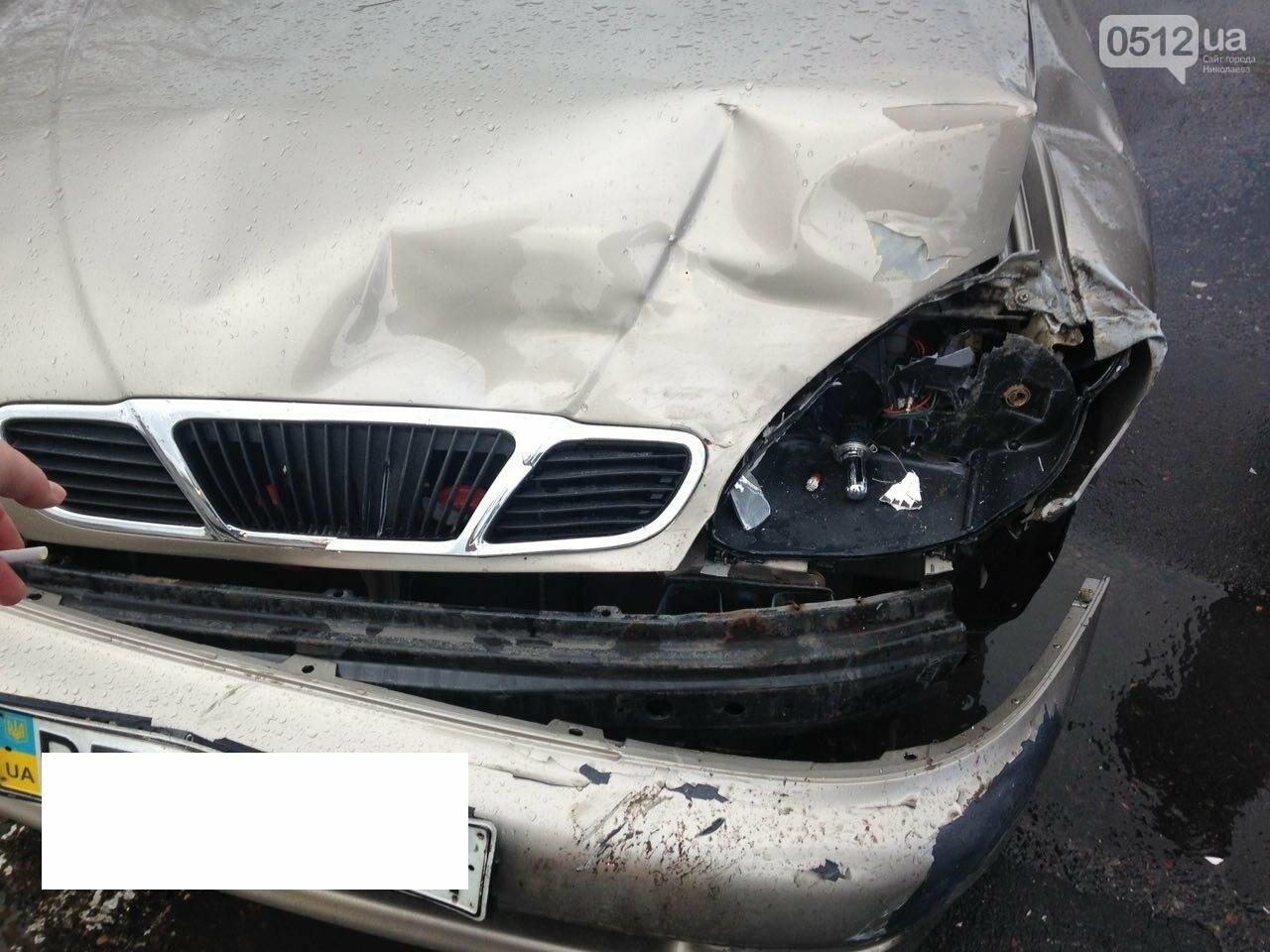 В Николаеве нетрезвый водитель ВАЗа подрезал Daewoo и спровоцировал ДТП, - ФОТО, фото-2