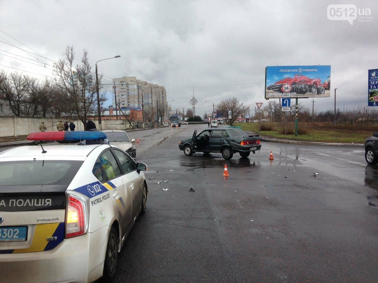 В Николаеве нетрезвый водитель ВАЗа подрезал Daewoo и спровоцировал ДТП, - ФОТО, фото-5