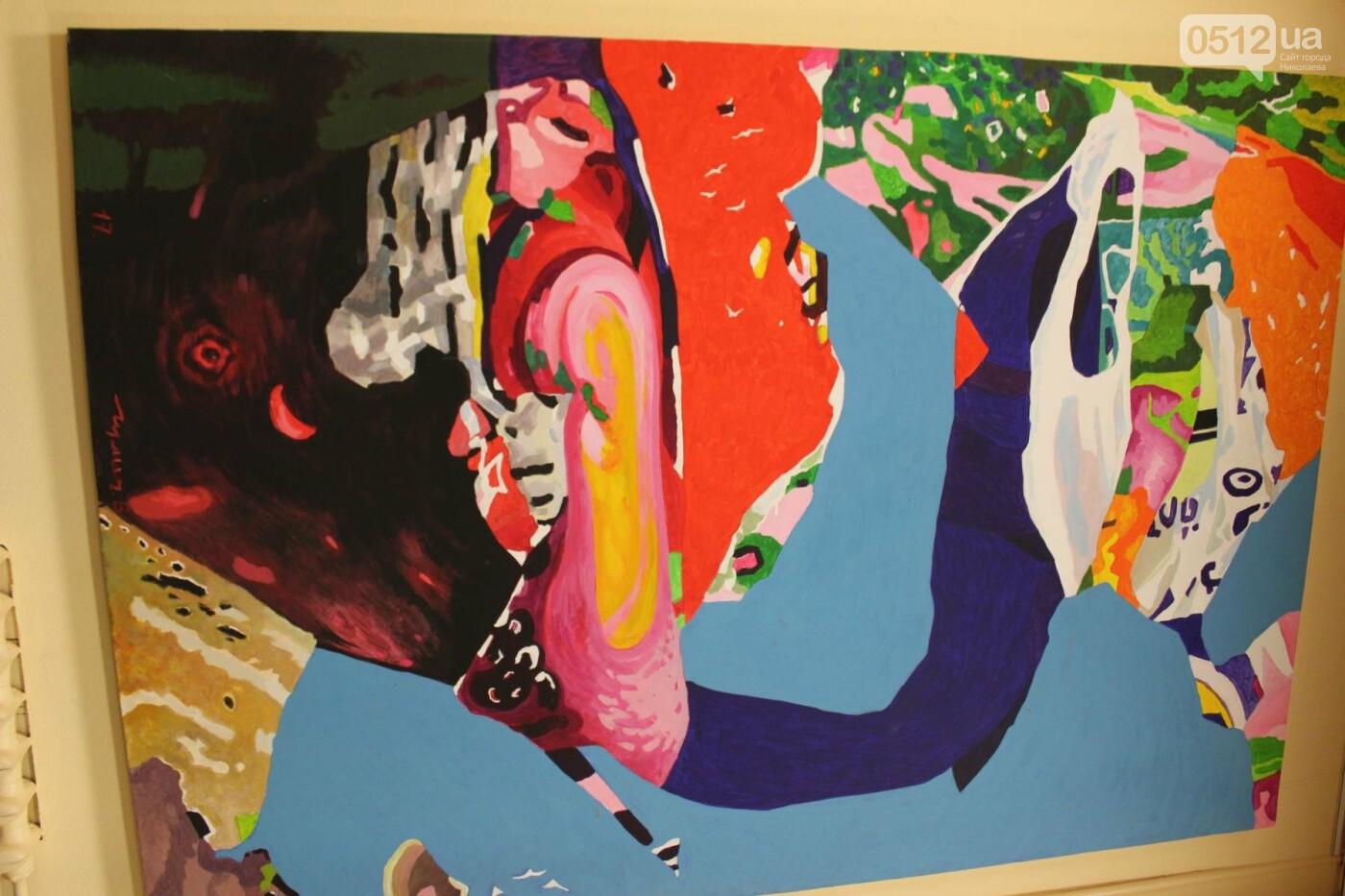 """Летающие корабли и промышленность Николаевщины: в городе открылась выставка """"Николаев Арт Пром"""", ФОТО , фото-16"""