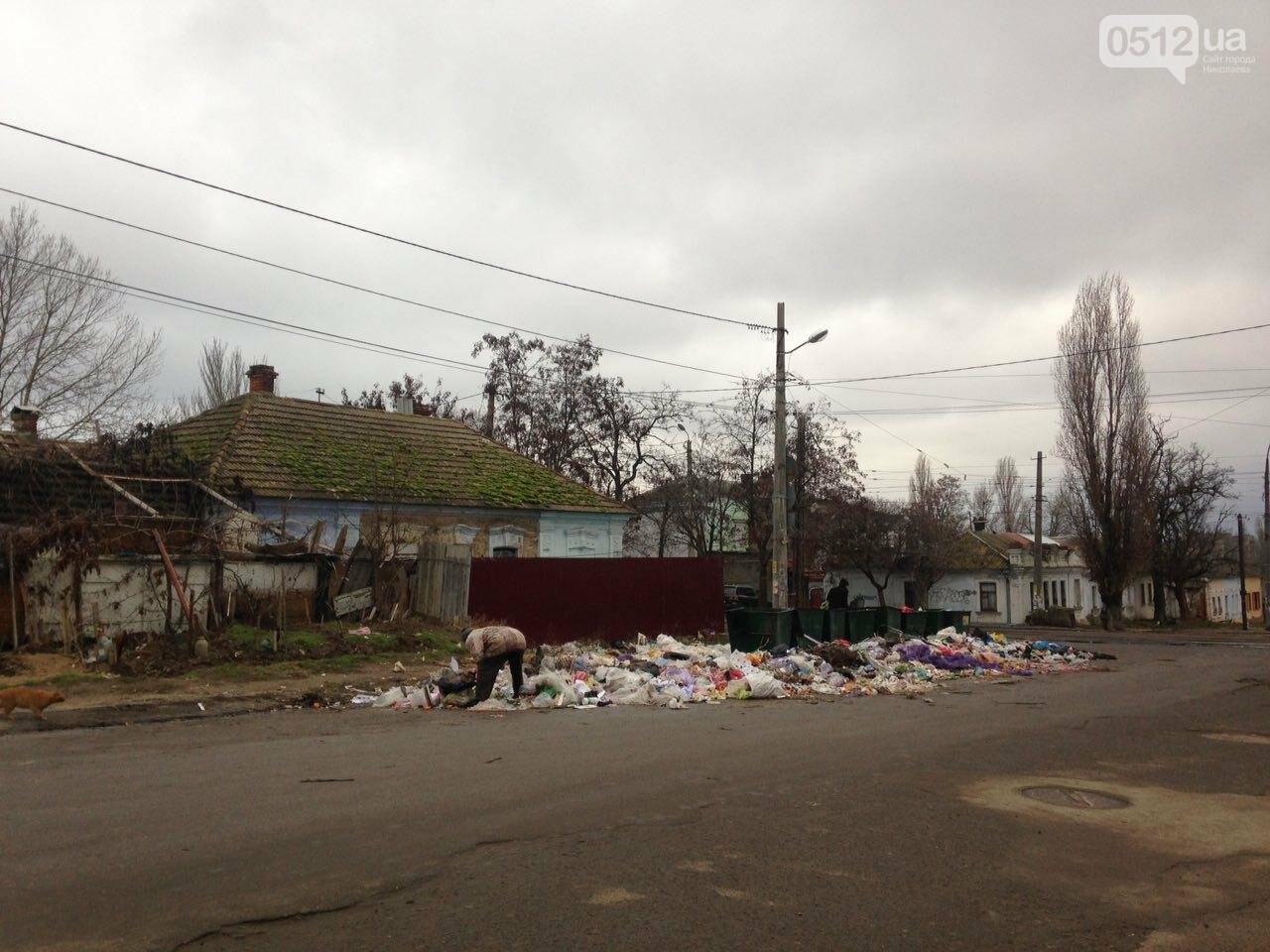 Мусорный коллапс: жители Николаева возмутились горами мусора, который не вывозят коммунальщики , фото-3