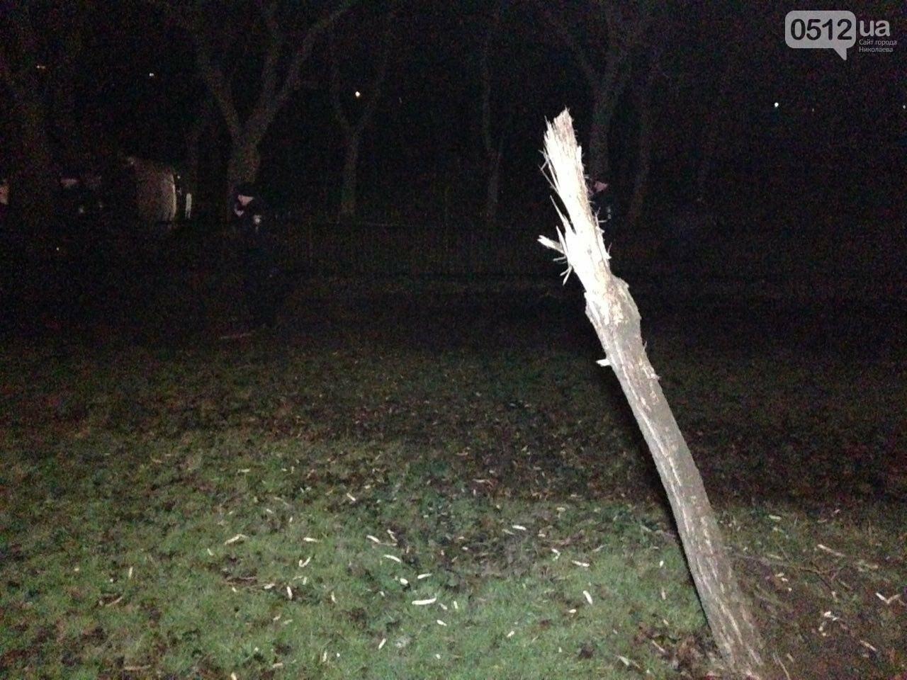 Страшное ДТП в Николаеве: 2 парня и 2 девушки на Мазде влетели в дерево - водитель умер на месте аварии, - ФОТО, фото-4