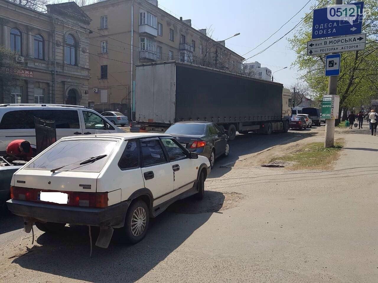 В Николаеве сломавшийся «Жигуль» создал пробку, - ФОТО, фото-3