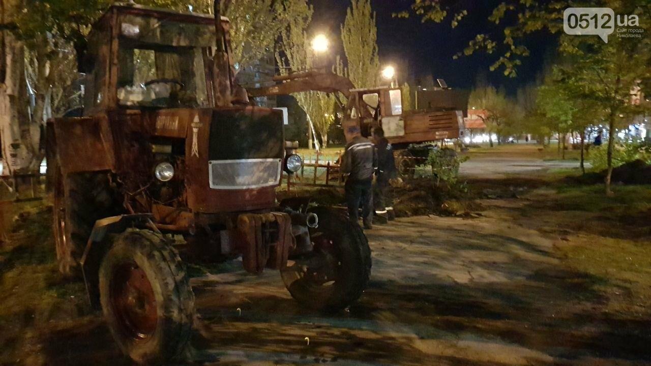 Некоторые дома в Николаеве остались без воды из-за серьезной аварии трубопровода, - ФОТО, ВИДЕО, фото-3