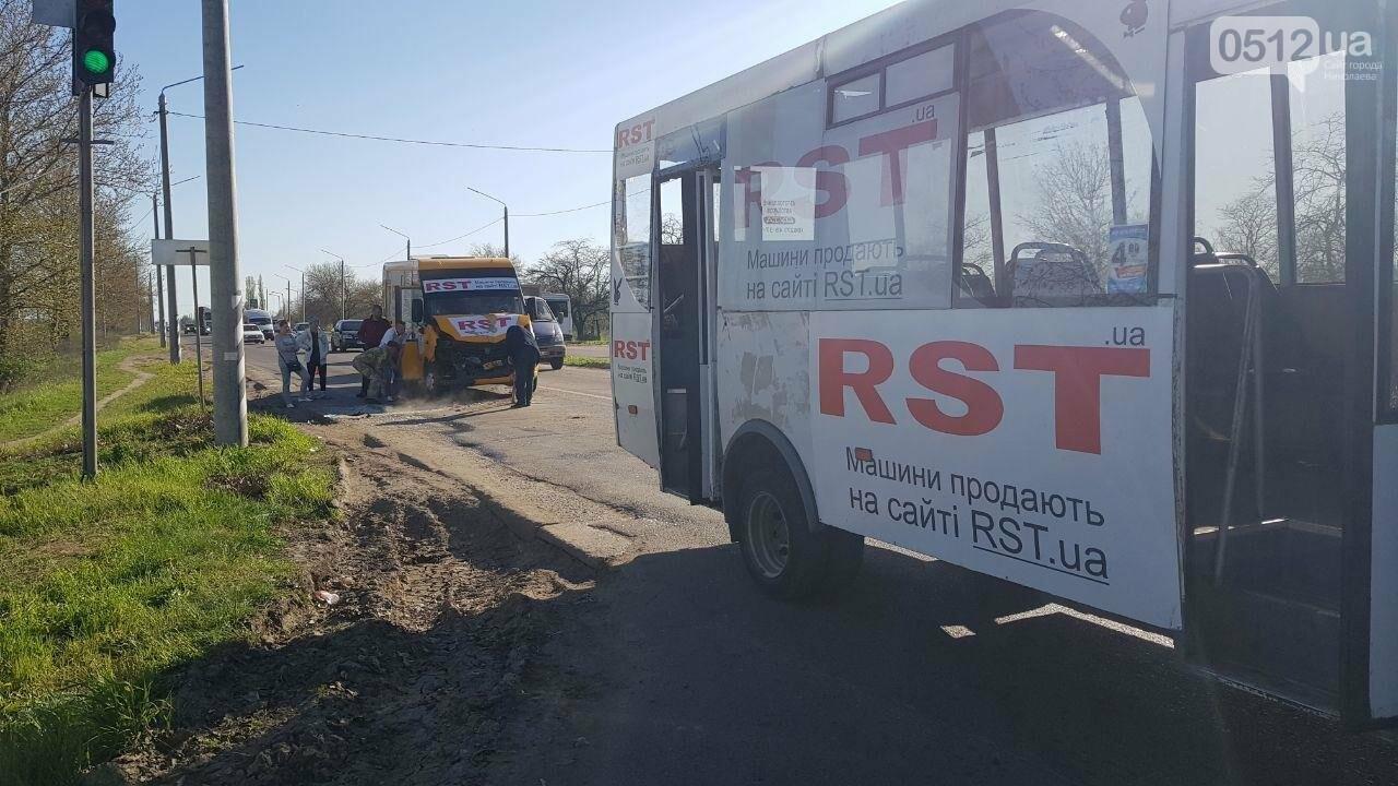 В Николаеве  столкнулись две 91 маршрутки: есть пострадавшие, - ФОТО, ВИДЕО, фото-2
