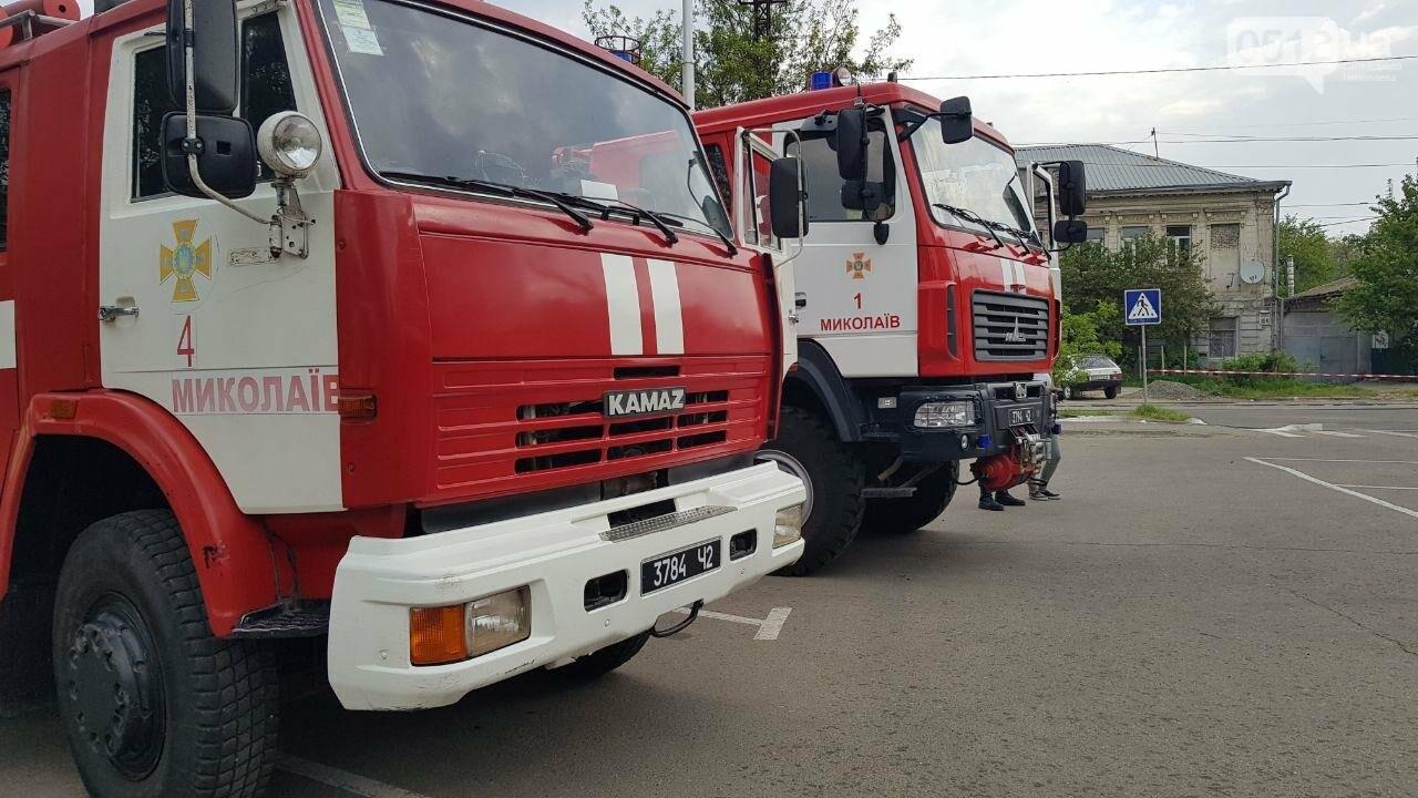 В Николаеве пожарные эвакуировали 10 человек из помещений ТРЦ City Center, - ФОТО, ВИДЕО, фото-1