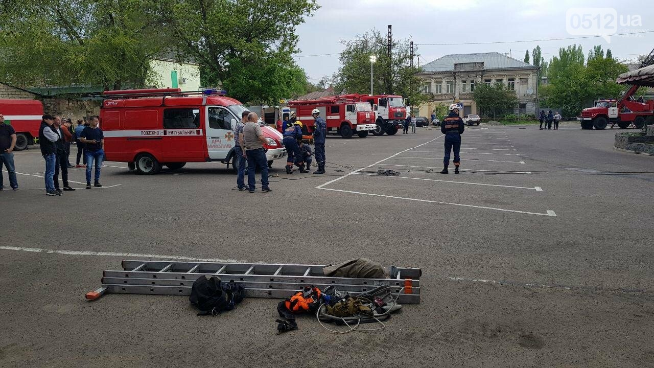 В Николаеве пожарные эвакуировали 10 человек из помещений ТРЦ City Center, - ФОТО, ВИДЕО, фото-7