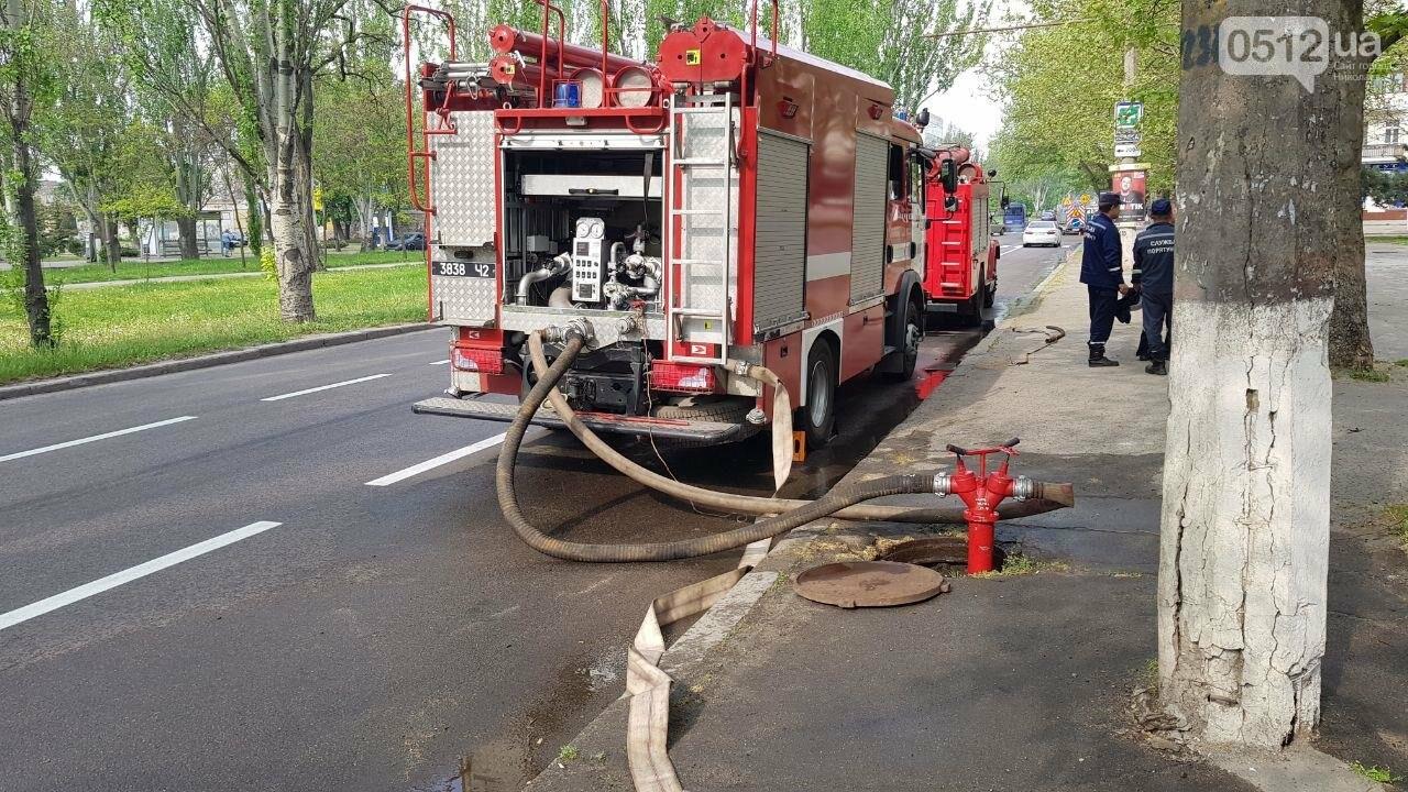 В Николаеве пожарные эвакуировали 10 человек из помещений ТРЦ City Center, - ФОТО, ВИДЕО, фото-9