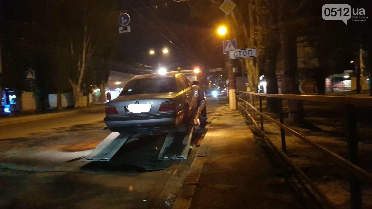 В Николаеве эвакуировали авто пьяного водителя, - ФОТО , фото-8