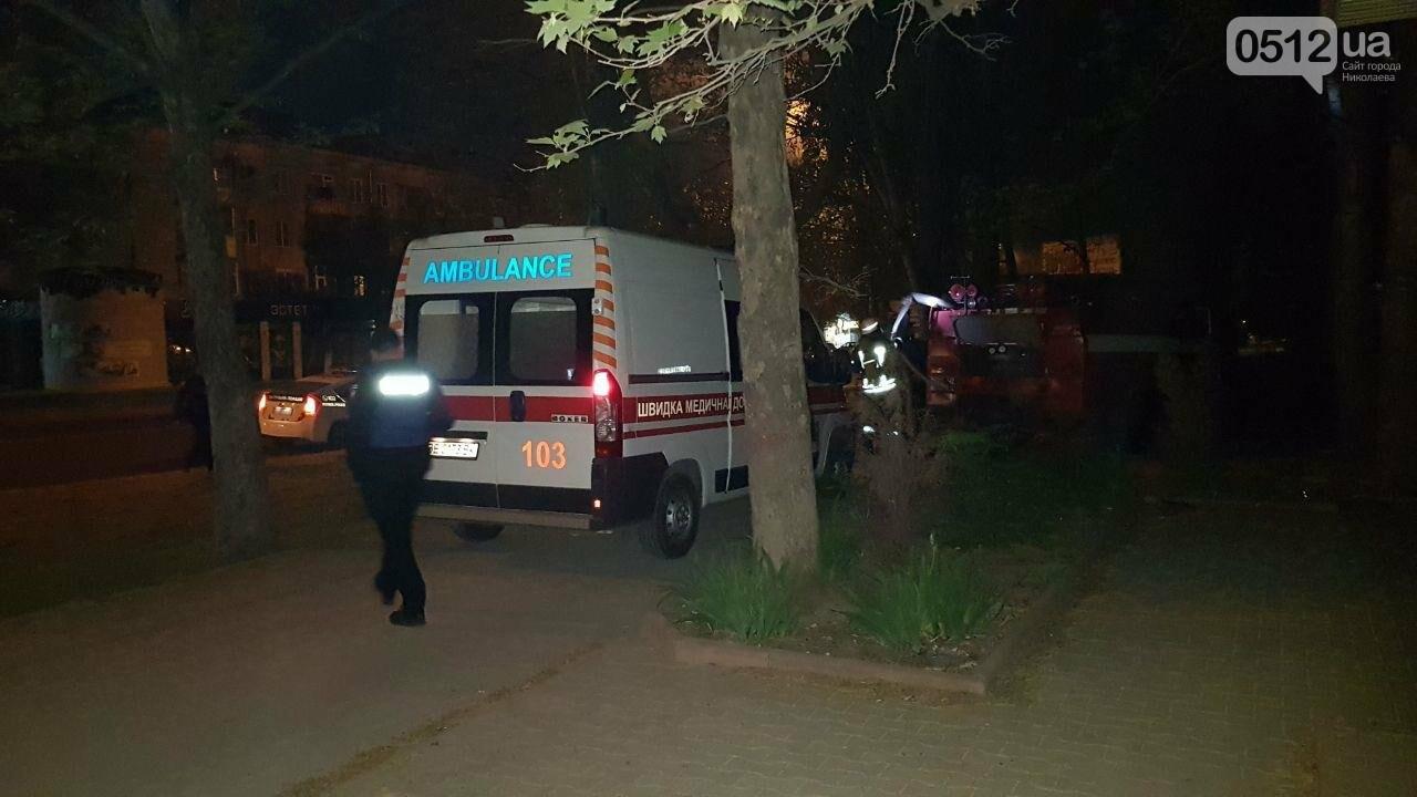В Николаеве горел подвал заброшенного дома, в котором находился бездомный на инвалидной коляске, - ФОТО, ВИДЕО, фото-8