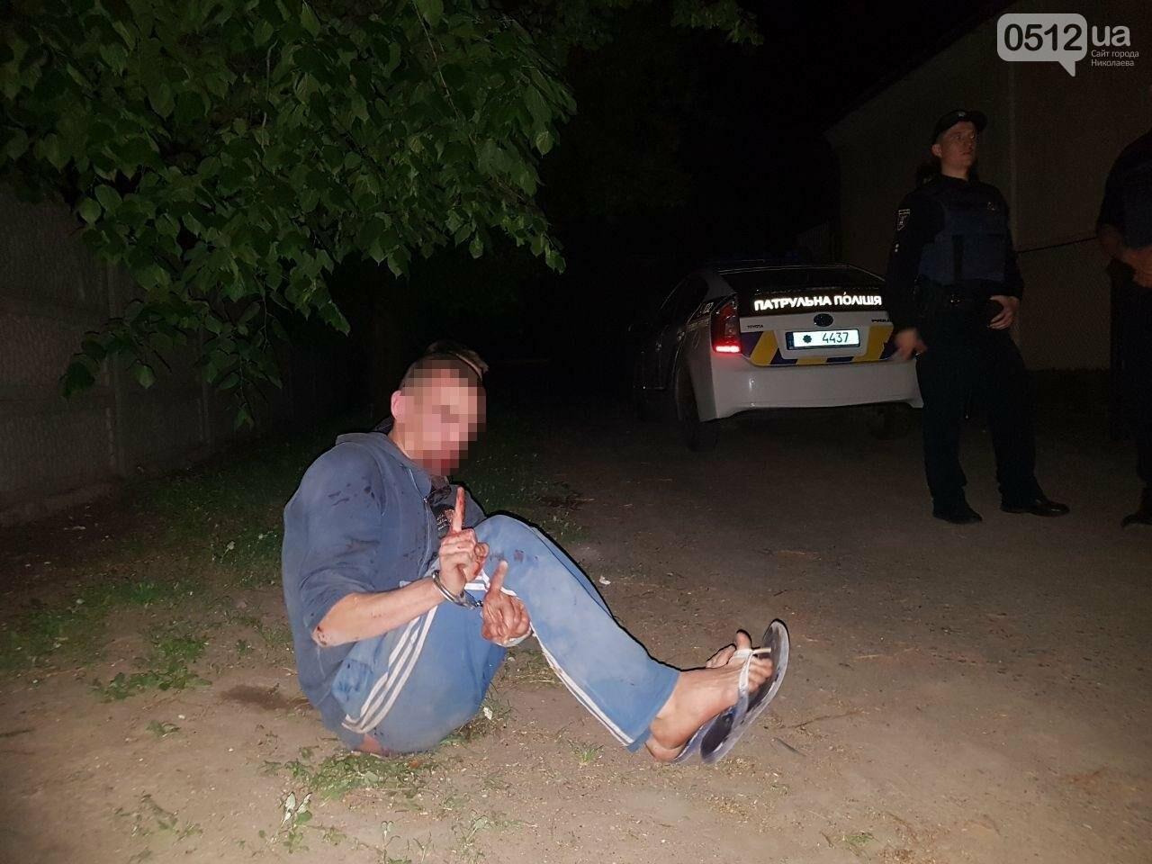 В Николаеве двое парней чуть не устроили поножовщину: патрульные подоспели вовремя, - ФОТО, фото-8