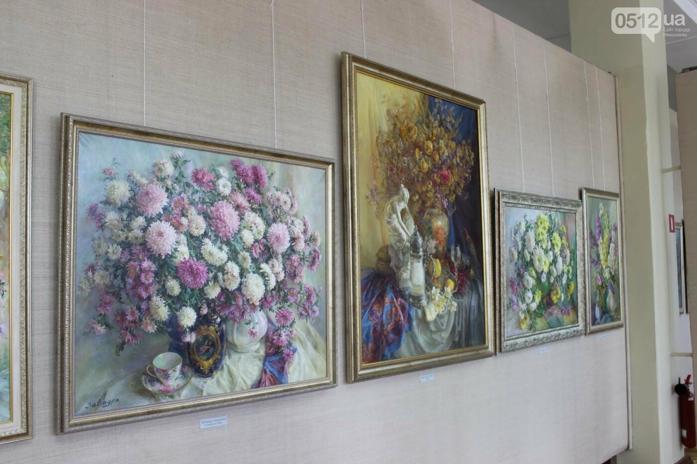 Николаевская художница Светлана Завтура презентовала свою юбилейную выставку, - ФОТО, фото-22
