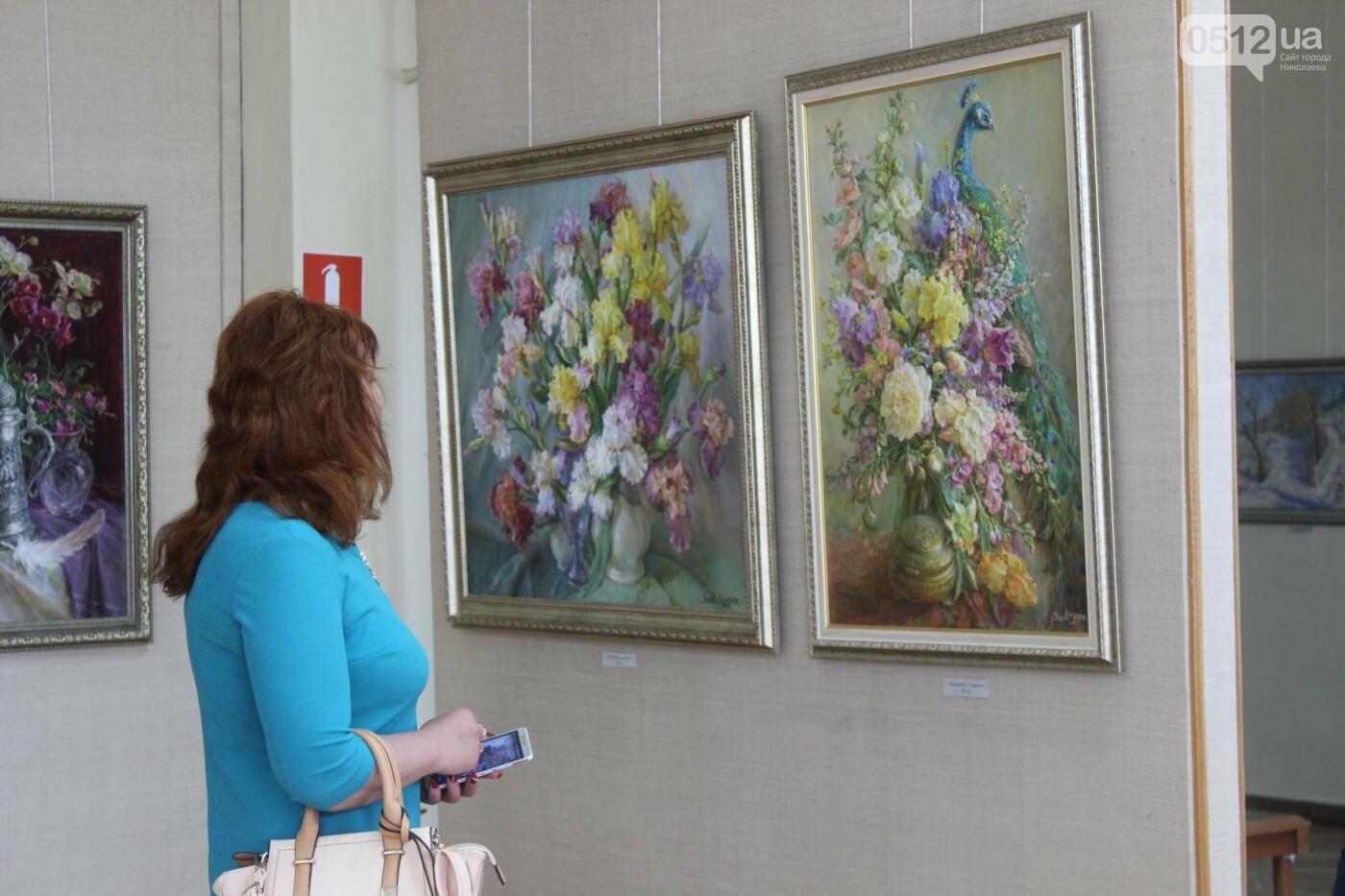 Николаевская художница Светлана Завтура презентовала свою юбилейную выставку, - ФОТО, фото-18