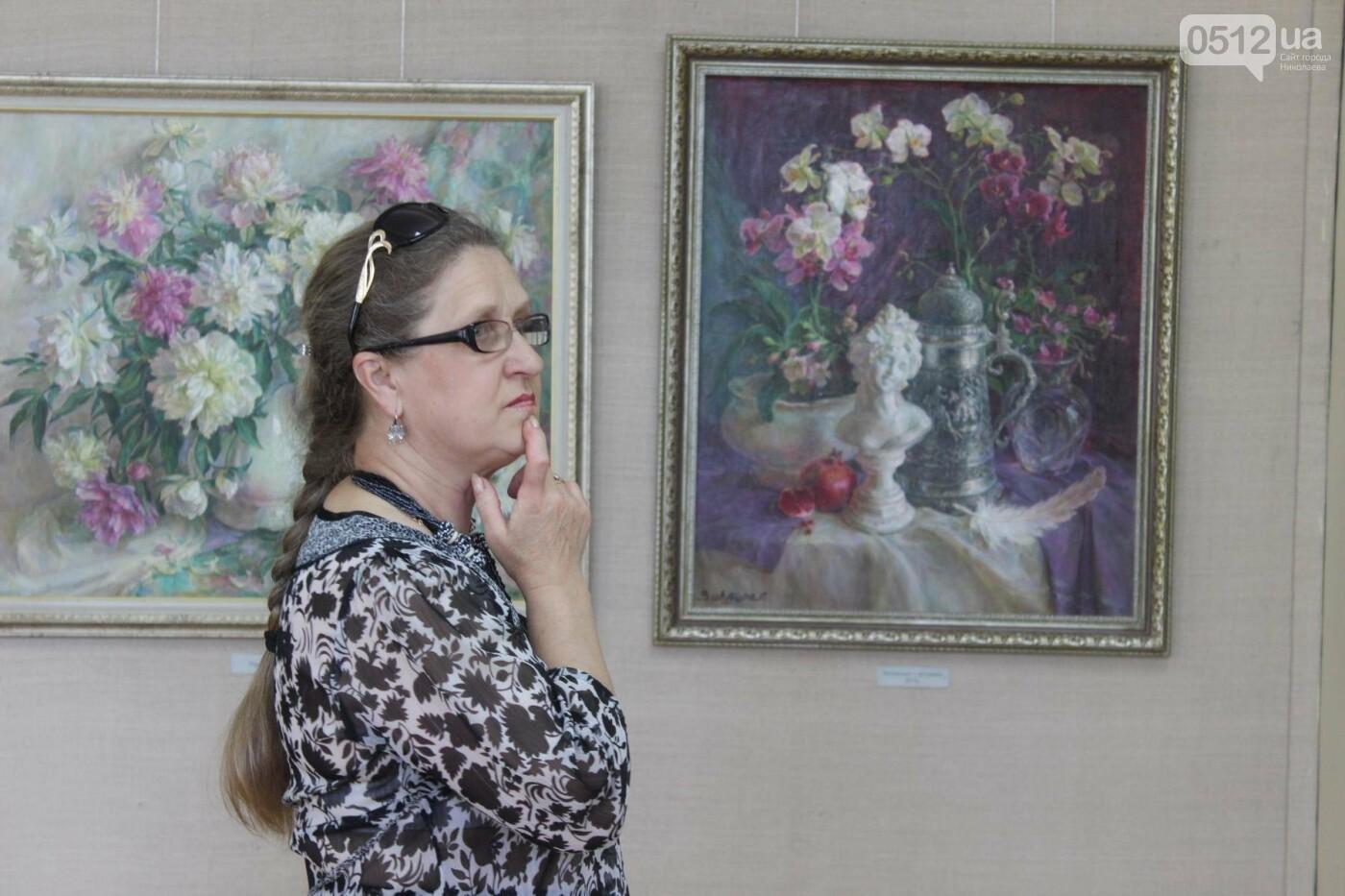 Николаевская художница Светлана Завтура презентовала свою юбилейную выставку, - ФОТО, фото-8