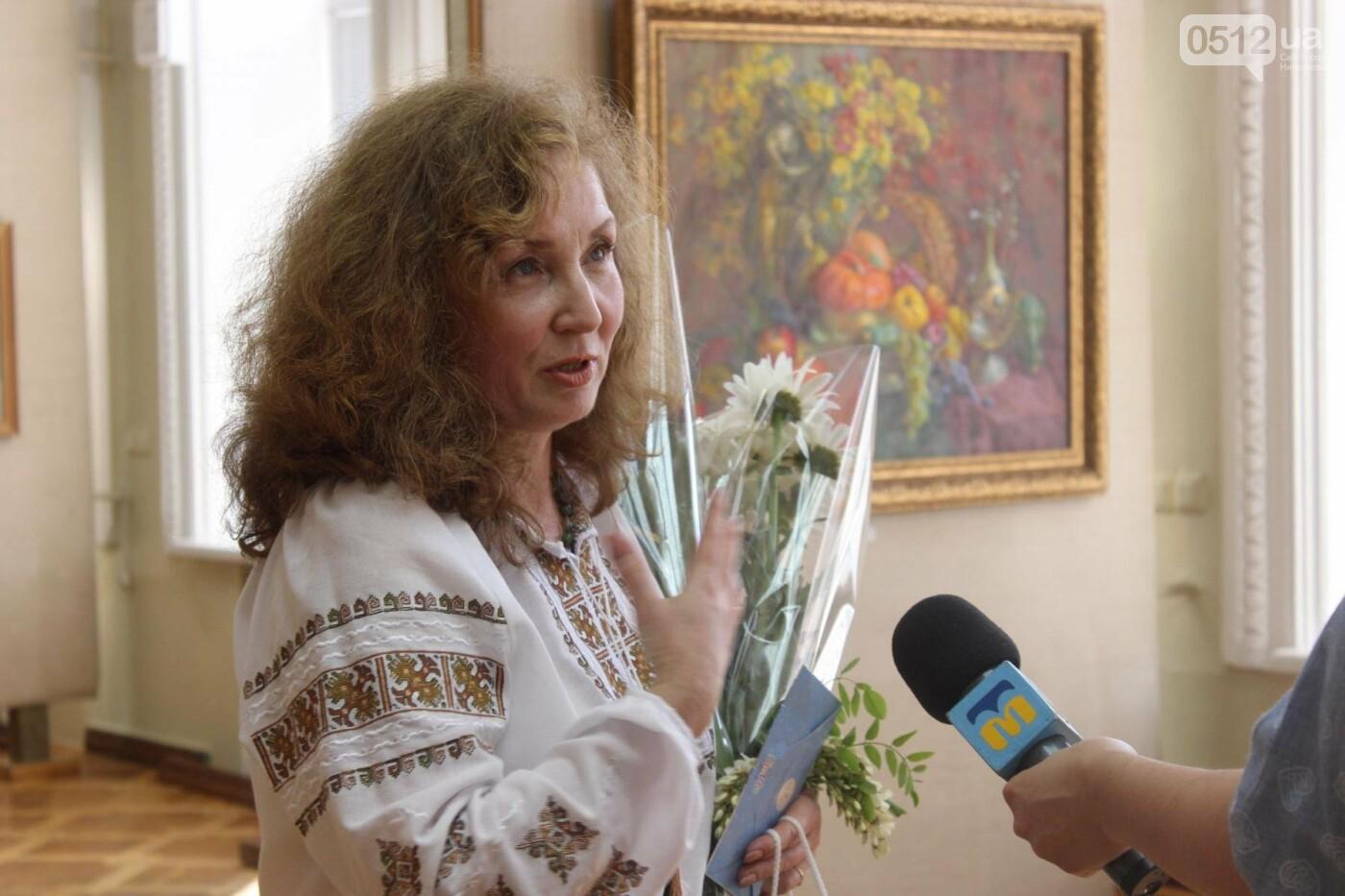 Николаевская художница Светлана Завтура презентовала свою юбилейную выставку, - ФОТО, фото-2
