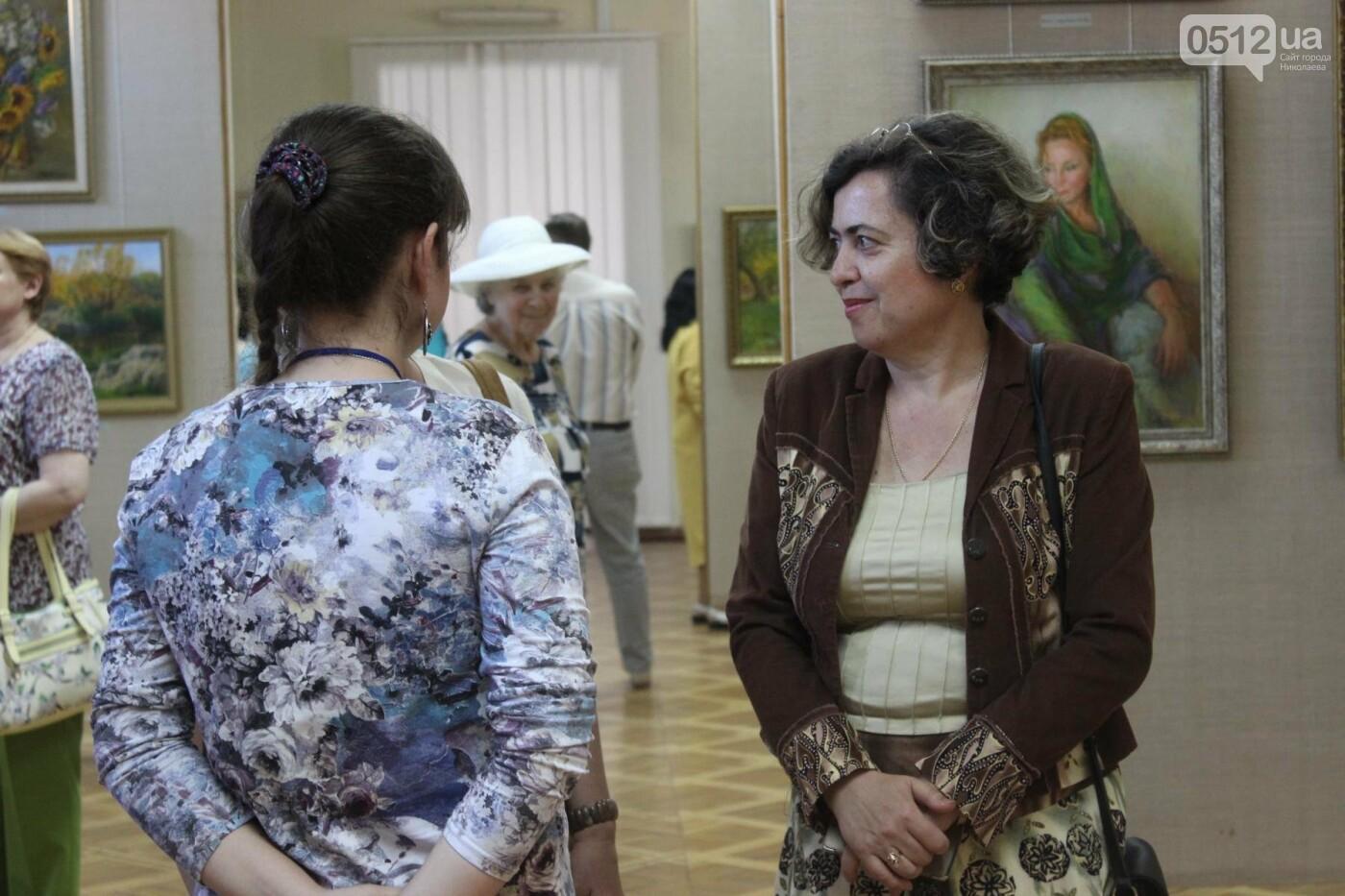 Николаевская художница Светлана Завтура презентовала свою юбилейную выставку, - ФОТО, фото-13