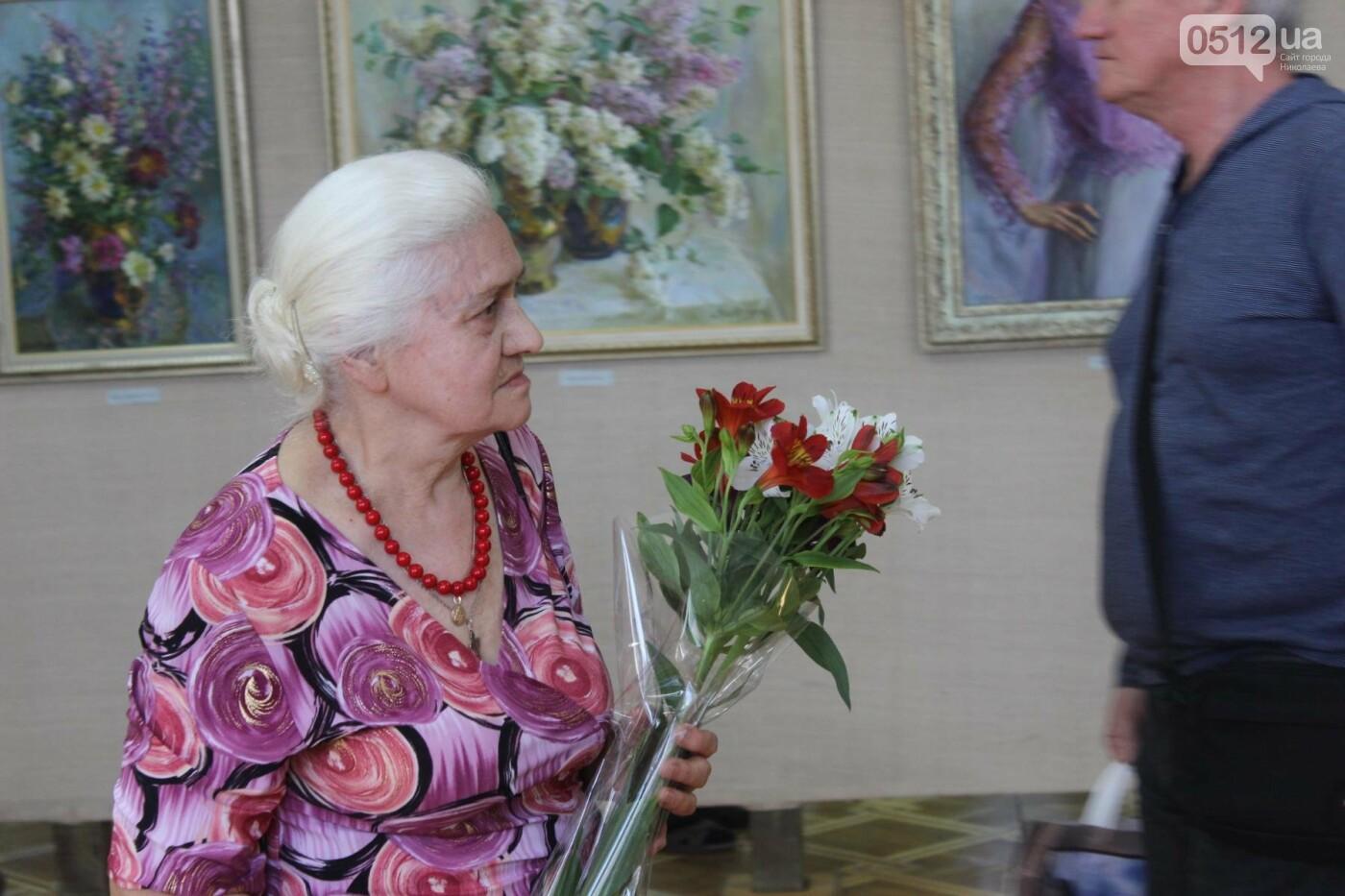 Николаевская художница Светлана Завтура презентовала свою юбилейную выставку, - ФОТО, фото-9