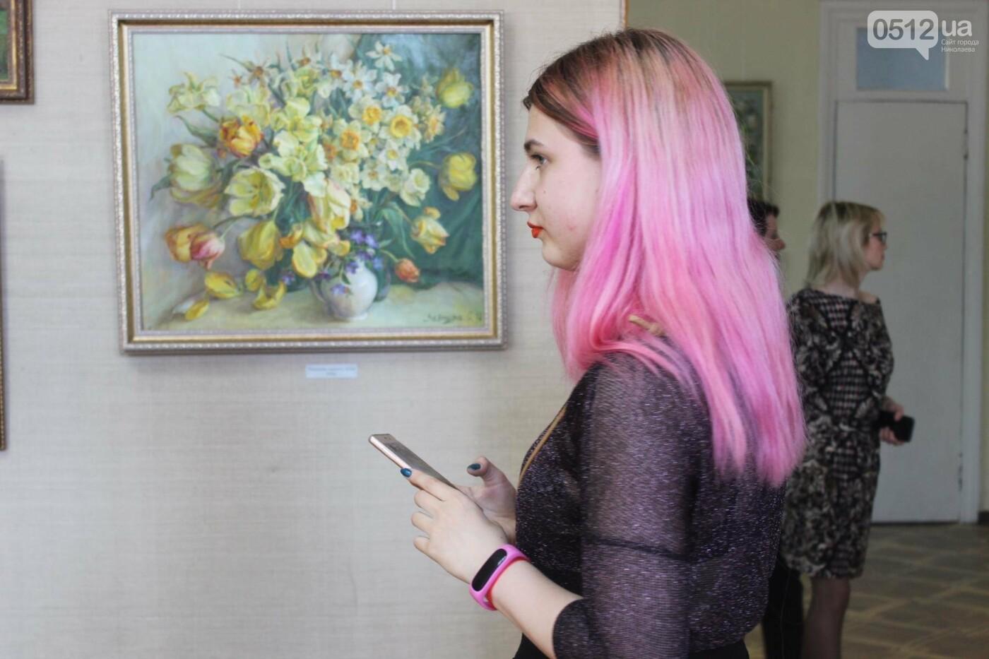 Николаевская художница Светлана Завтура презентовала свою юбилейную выставку, - ФОТО, фото-10
