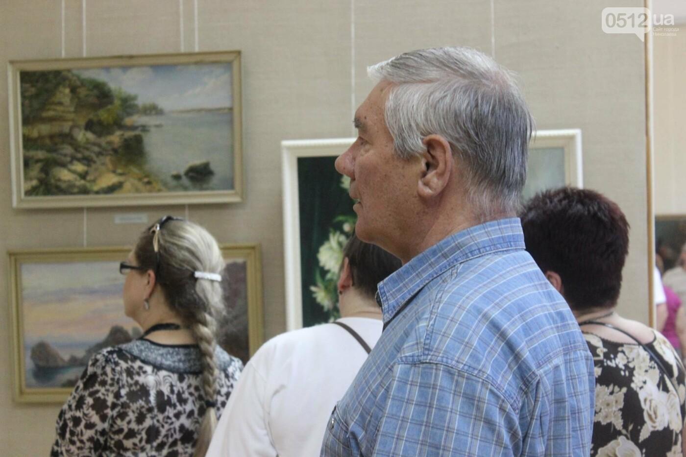 Николаевская художница Светлана Завтура презентовала свою юбилейную выставку, - ФОТО, фото-11