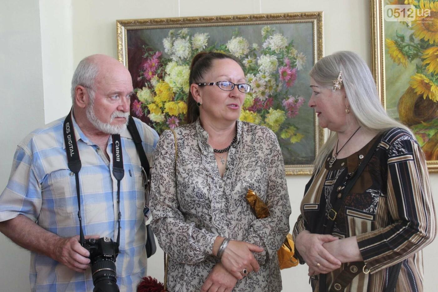 Николаевская художница Светлана Завтура презентовала свою юбилейную выставку, - ФОТО, фото-16