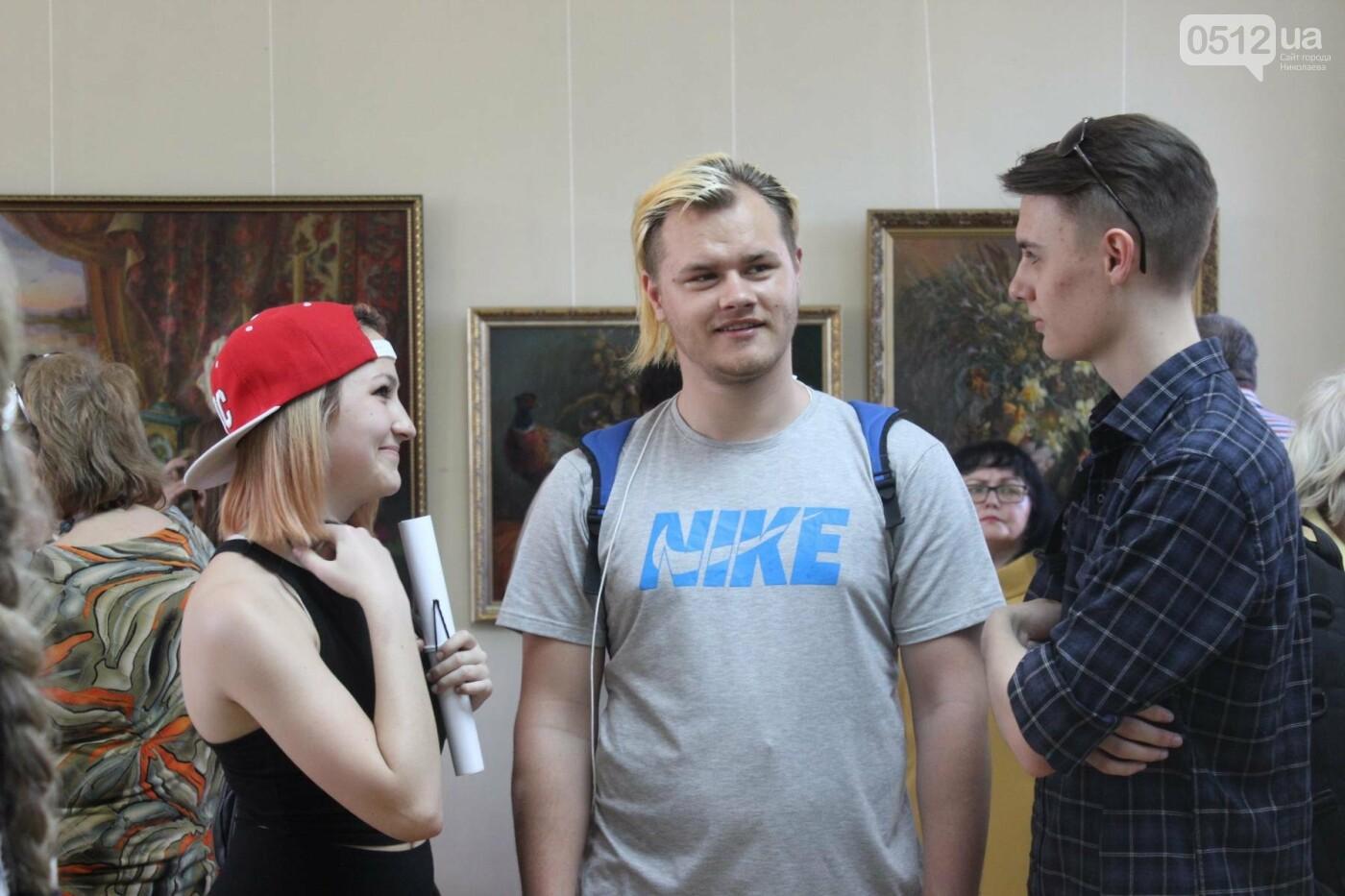 Николаевская художница Светлана Завтура презентовала свою юбилейную выставку, - ФОТО, фото-5