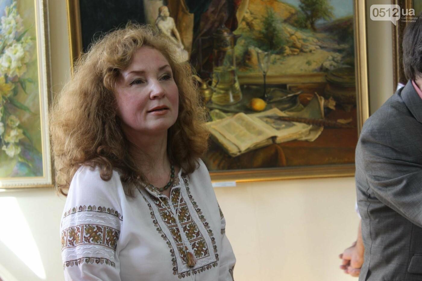 Николаевская художница Светлана Завтура презентовала свою юбилейную выставку, - ФОТО, фото-6