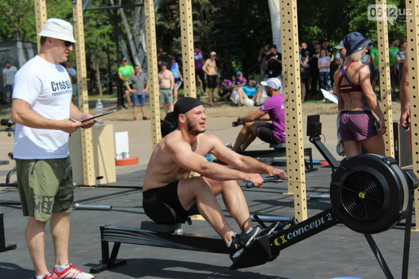 Кто сильнее: в Николаеве прошли соревнования по кроссфиту среди силовых структур, - ФОТО, ВИДЕО, фото-6