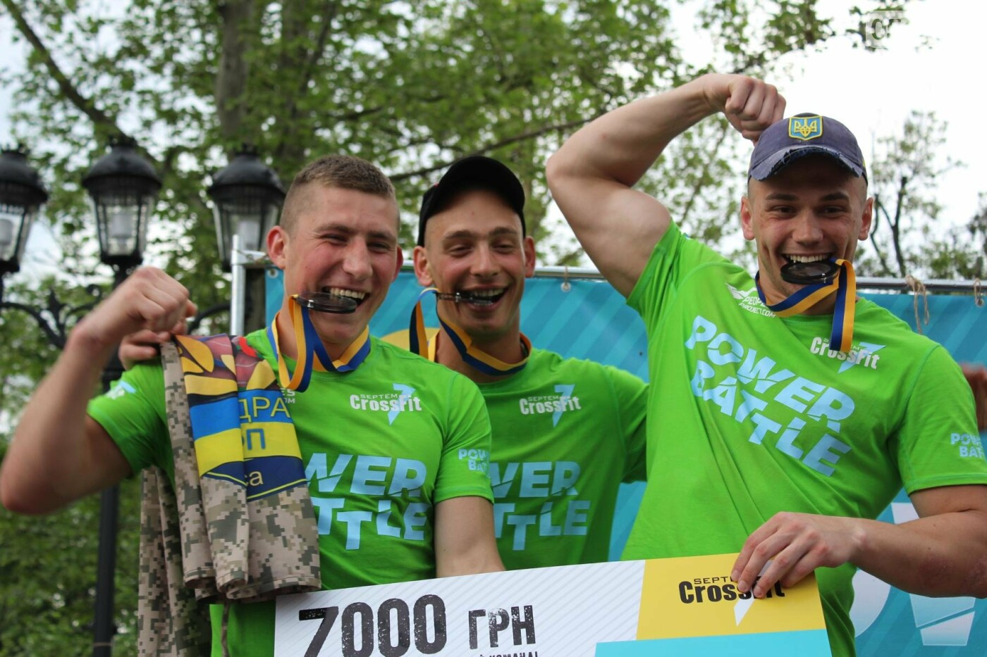 Кто сильнее: в Николаеве прошли соревнования по кроссфиту среди силовых структур, - ФОТО, ВИДЕО, фото-13