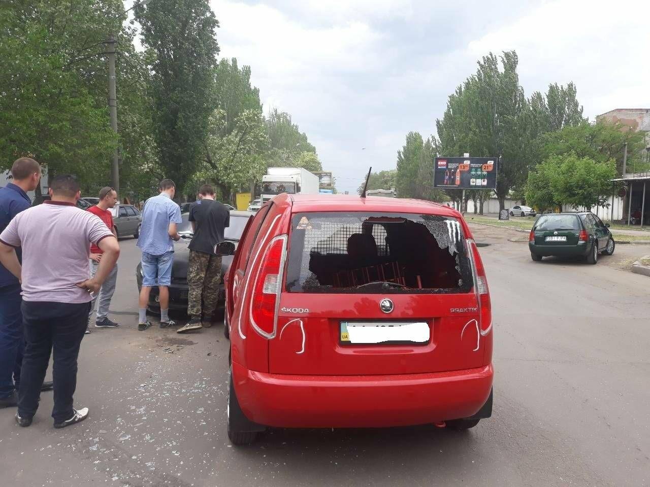 ДТП на выезде из Николаева: столкнулись автомобиль «Coca-cola» и ВАЗ, - ФОТО, фото-4