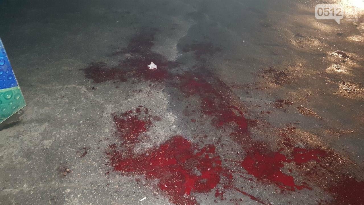 Поножовщиной закончился конфликт в Николаевском пивном баре, - ФОТО, ВИДЕО 18+, фото-5